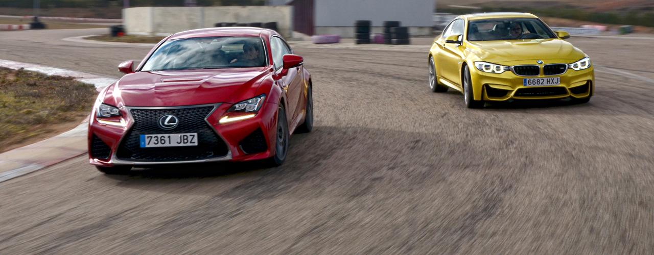 Comparativa BMW M4 vs Lexus RC F (III): Comportamiento en circuito y conclusiones