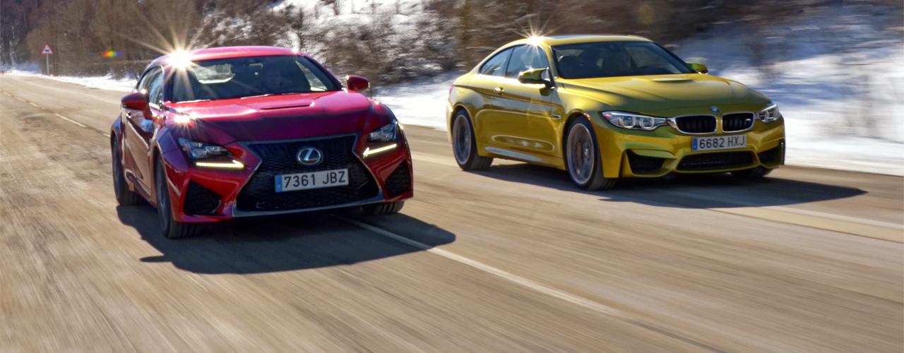 Comparativa BMW M4 vs Lexus RC F (I) ¿Quién es quién?