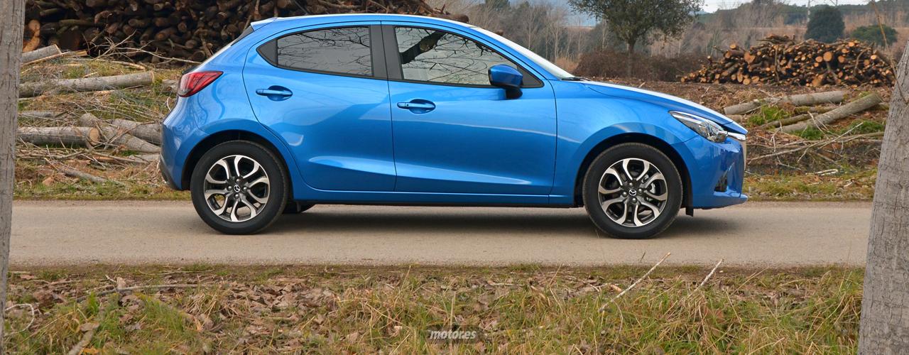 Mazda2 2015 (II): Diseño, habitabilidad y maletero