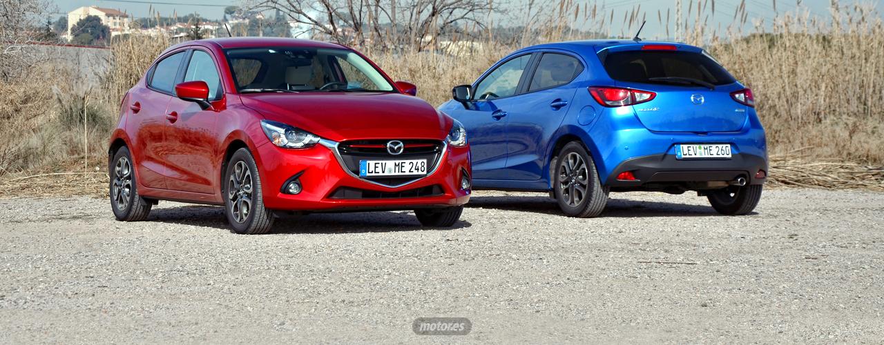 Mazda2 2015 (I): Gama, equipamiento y precio