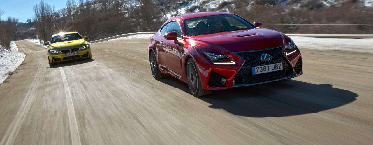 Comparativa BMW M4 vs Lexus RC F (II): Emociones fuertes