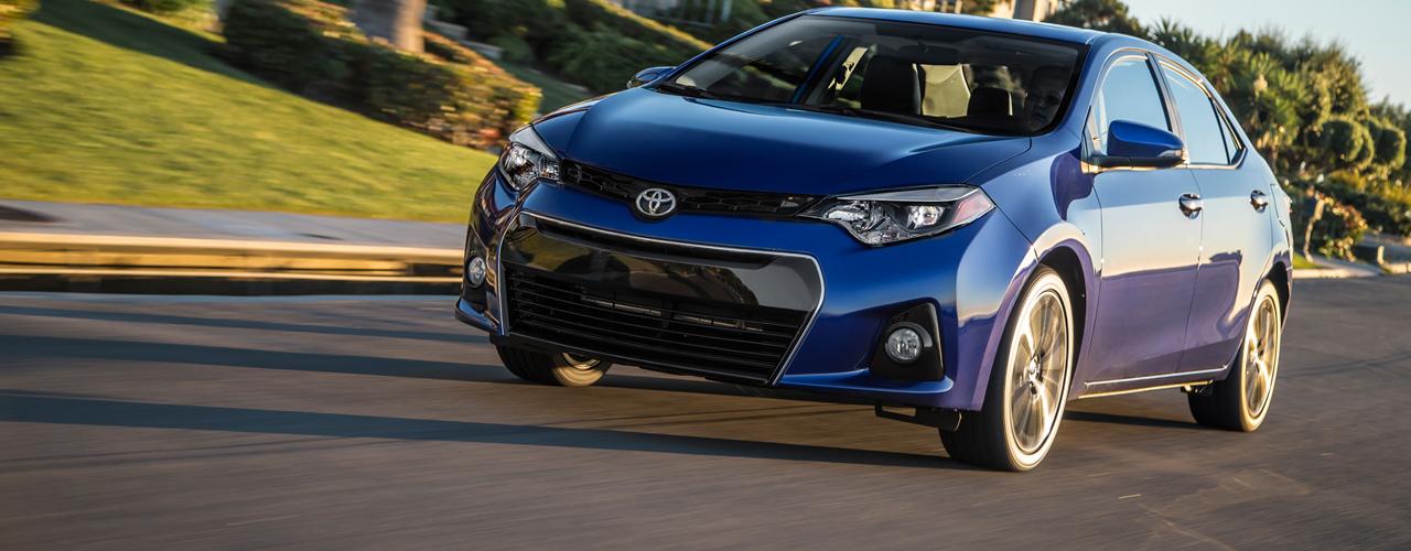 Estados Unidos - Enero 2015: El Toyota Corolla triunfa