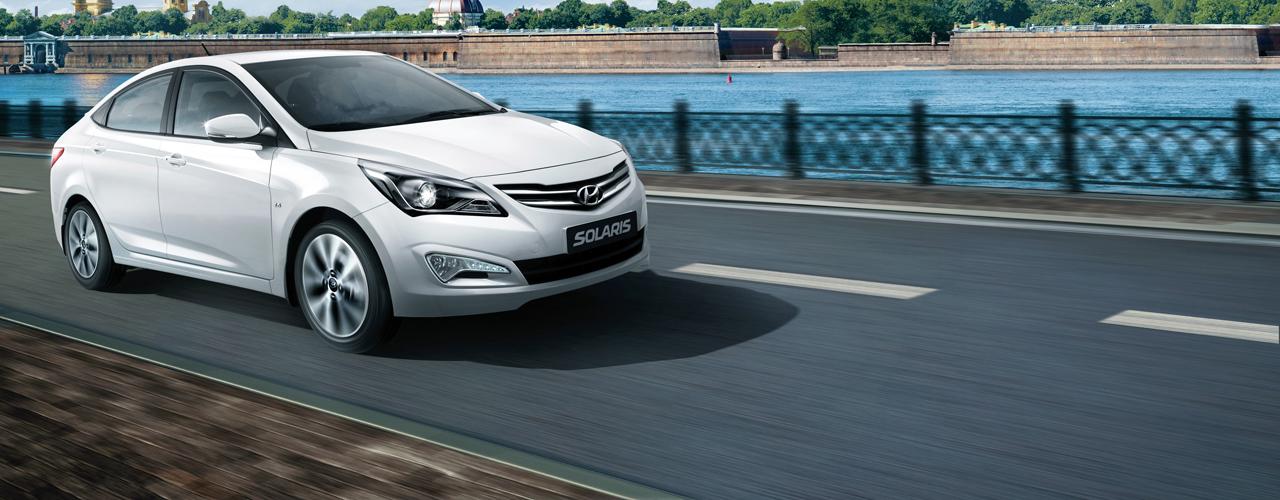 Rusia - Enero 2015: El Hyundai Solaris lidera el ranking