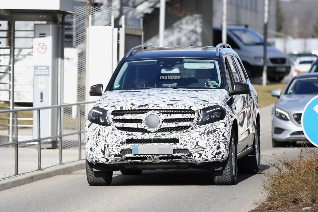 Mercedes Benz GLS 2016, el SUV más grande de la marca prepara un nuevo diseño