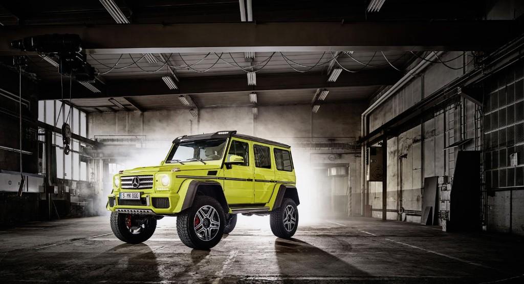 Mercedes G 500 4x4² 2015, el Clase G más extremo ya es oficial