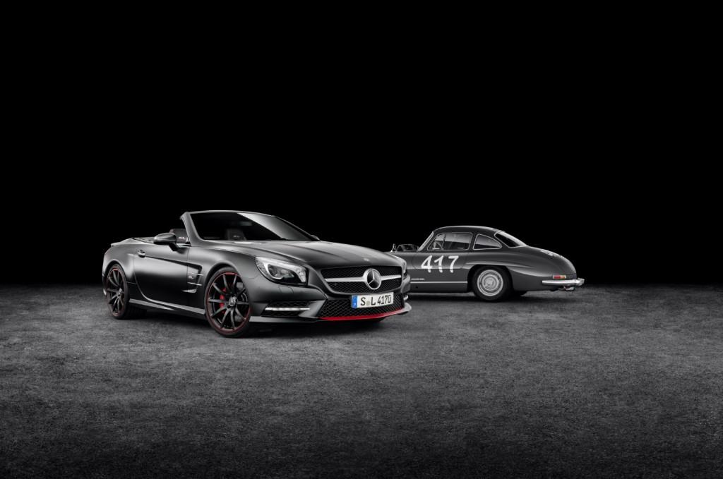 Mercedes SL 'Mille Miglia 417', edición especial para el Salón de Ginebra 2015