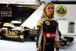 Carmen Jordà, nueva piloto de desarrollo de Lotus F1 Team
