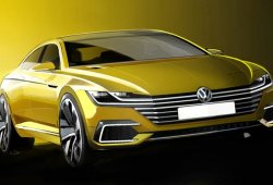 Volkswagen CC Concept, prototipo para el Salón de Ginebra 2015