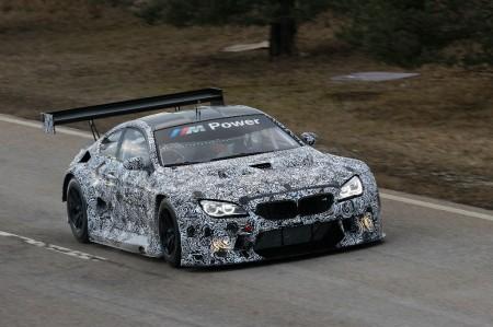 BMW M6 GT3 2016, sus pruebas de desarrollo ya están en marcha