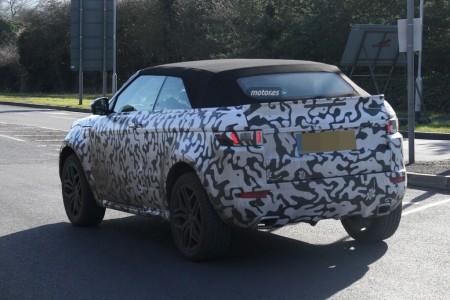Range Rover Evoque Cabrio 2016, cazado de nuevo