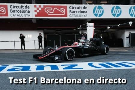 Test F1 Barcelona 2015: En directo el día 4 en Montmeló