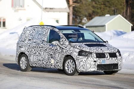 Volkswagen Touran 2015, últimas pruebas antes de su presentación