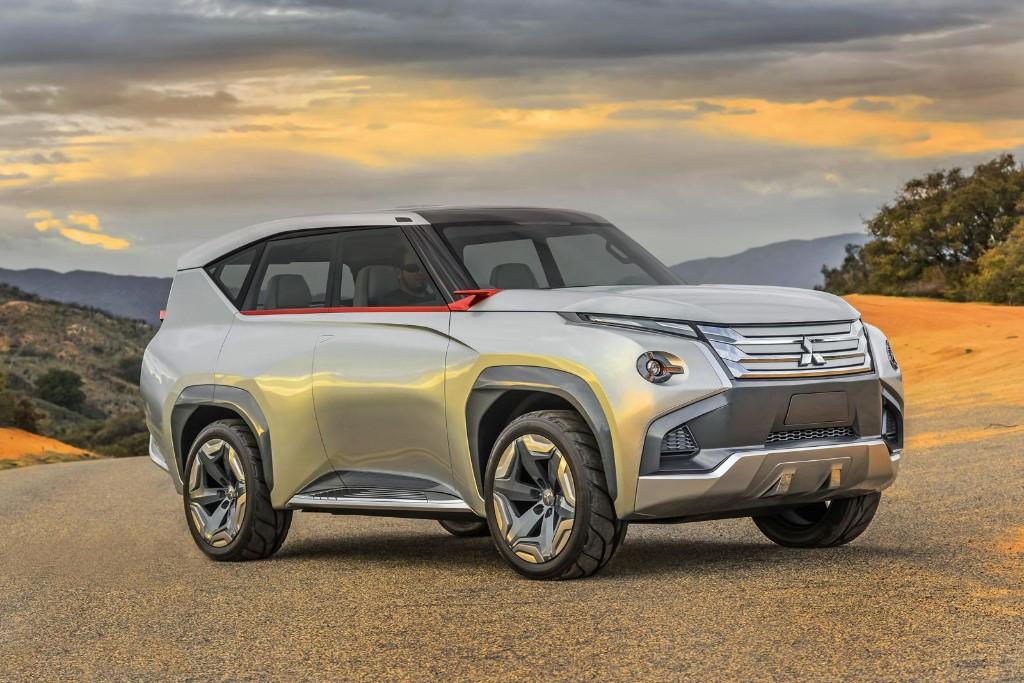 Mitsubishi Concept GC-PHEV 2015, estrenando mucho diseño y 335 CV híbridos