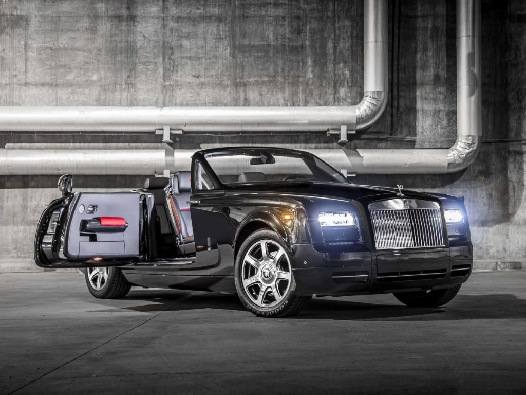 Rolls-Royce Phantom Drophead Coupé Nighthawk, sólo para 9 afortunados