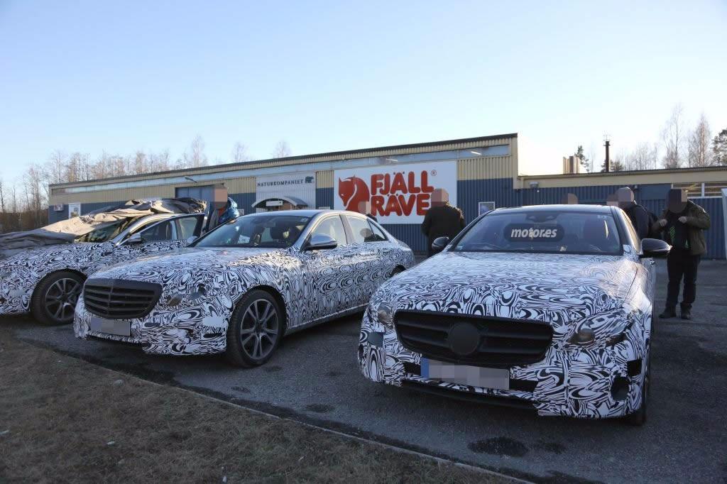 Mercedes Clase E 2016, descubrimos nuevos detalles de la berlina