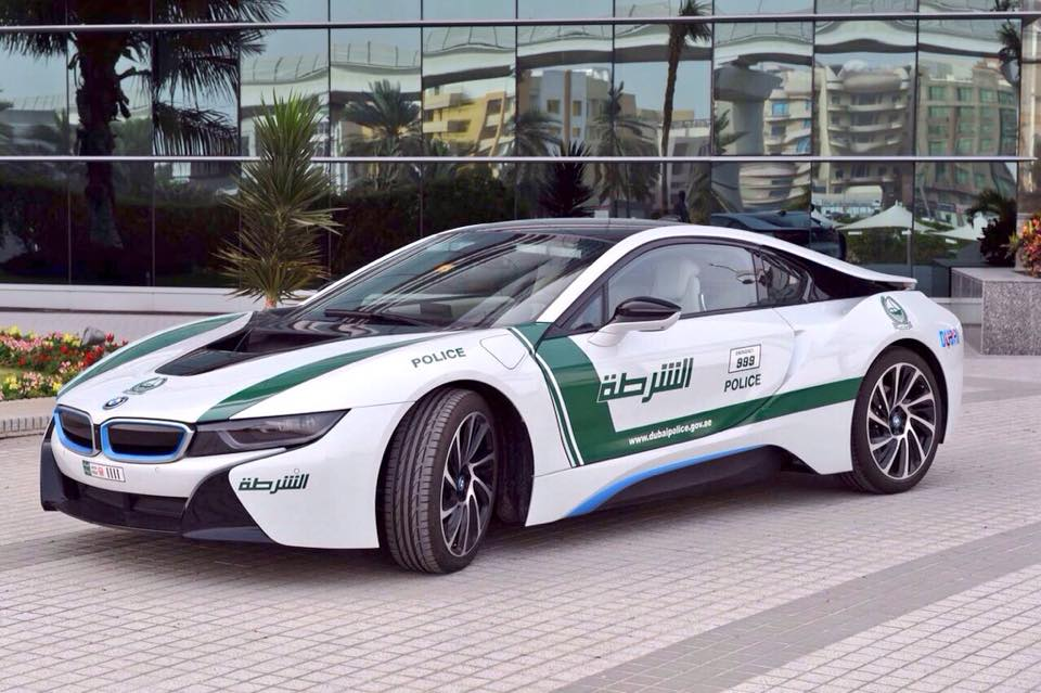 BMW i8, un nuevo coche para la Policía de Dubai
