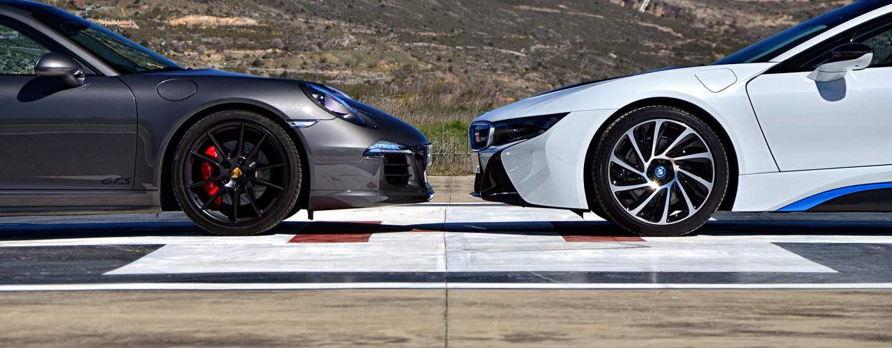 BMW i8 vs Porsche 911 GTS (II): la hora de la verdad