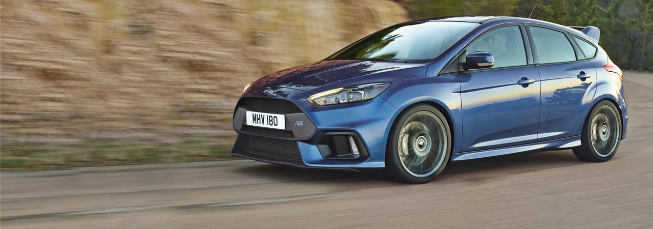 Ford Focus RS, 320 CV y tracción integral