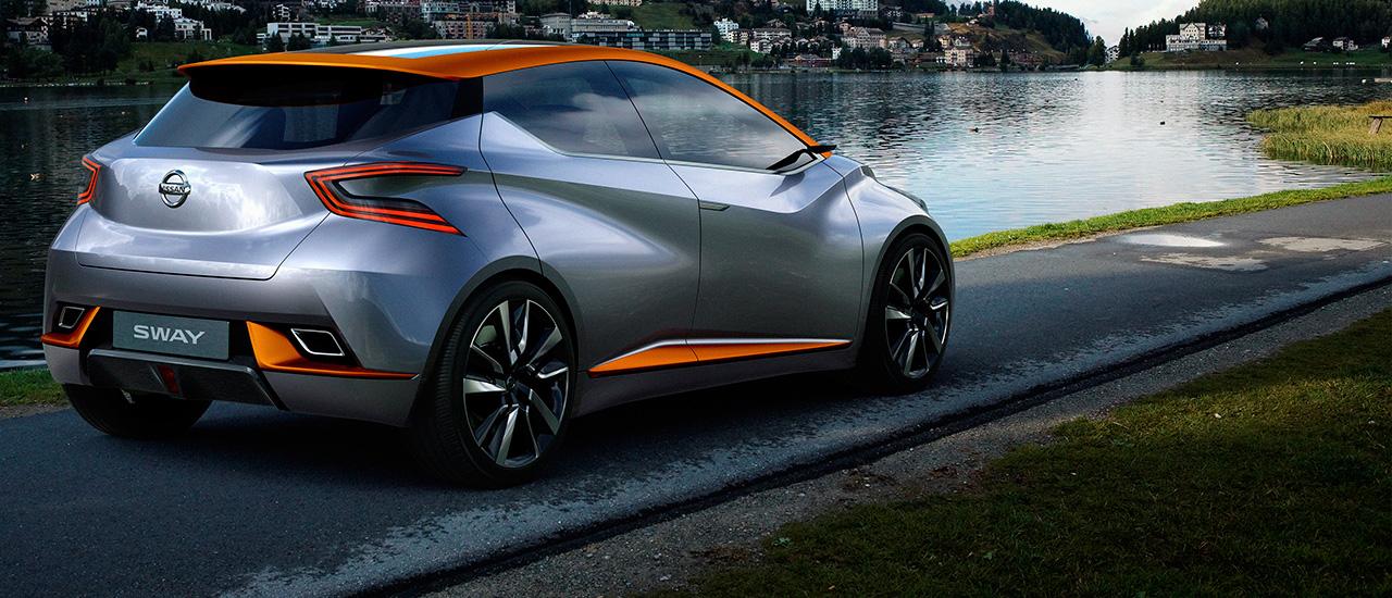 Nissan SWAY, un vistazo al futuro del segmento B (con vídeo)