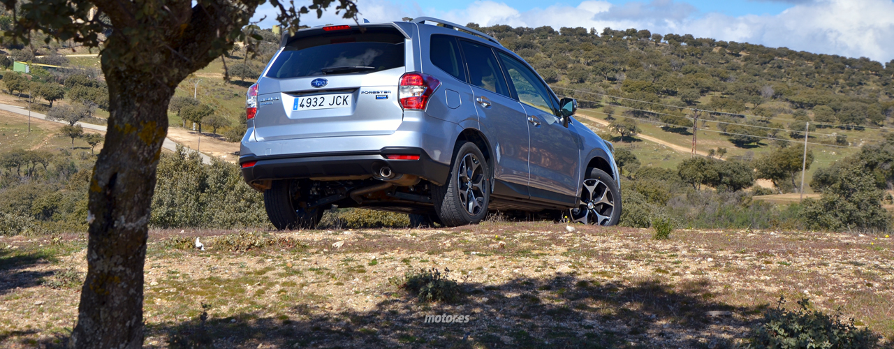 Subaru Forester Boxer Diesel Lineartronic: motor, comportamiento y conclusiones