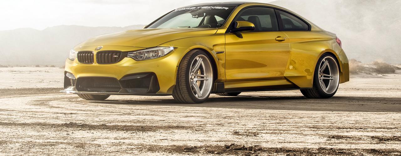 BMW M4 GTRS4, puro músculo gracias a Vorsteiner