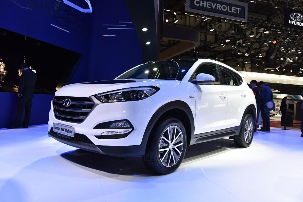 Hyundai Tucson 2015, con dos híbridos diferentes en Ginebra