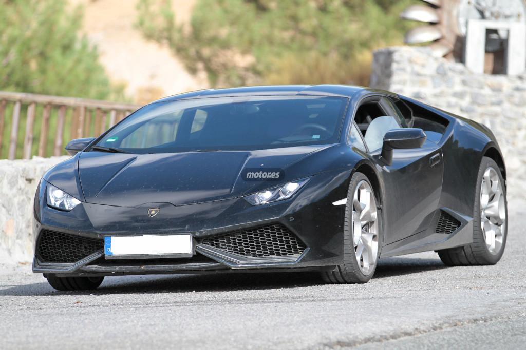 Primeras imágenes del Lamborghini Huracán de tracción trasera