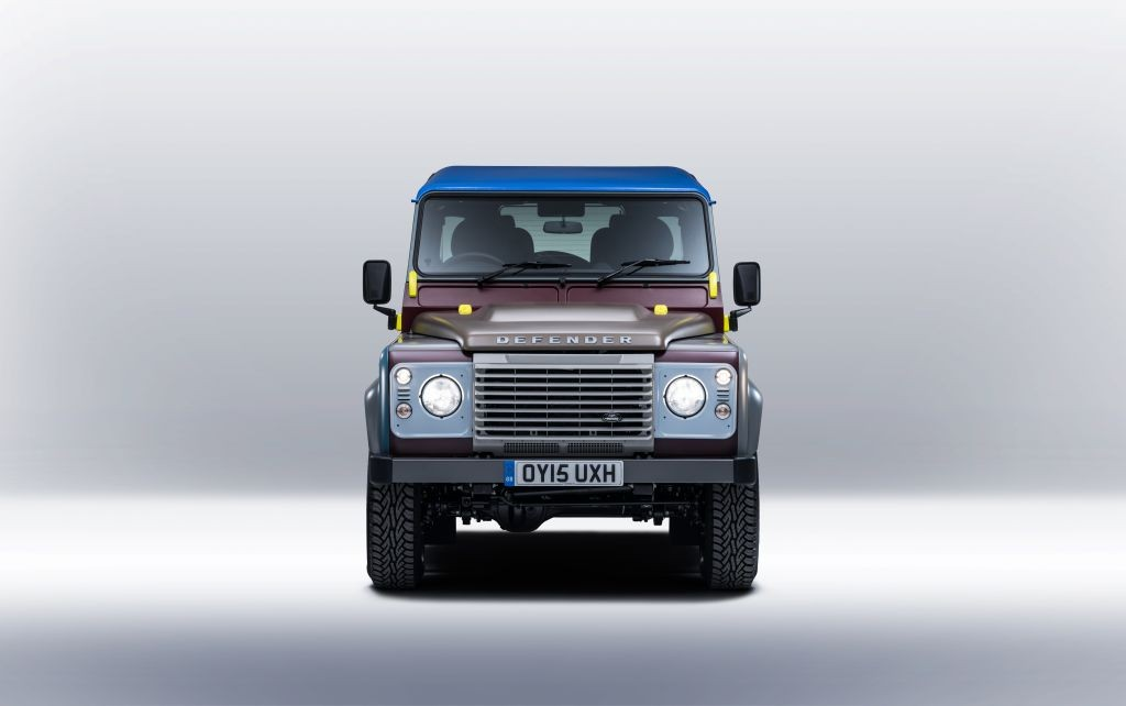 Un One-Off para el Land Rover Defender firmado por Paul Smith