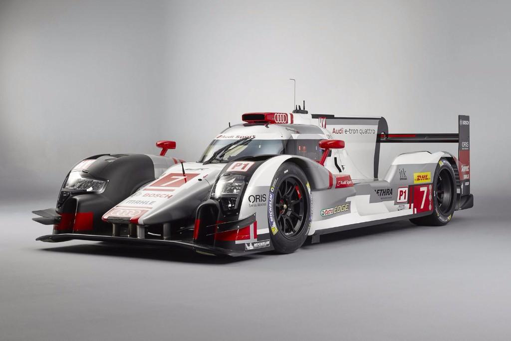 Le Mans 2015: el Audi R18 e-tron quattro nos presenta sus novedades