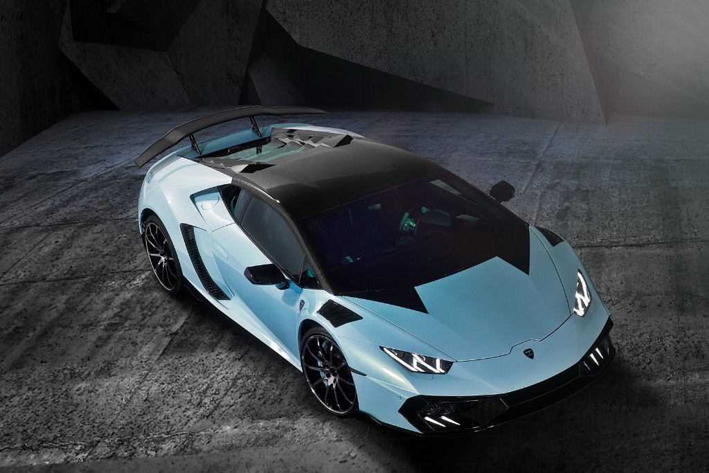 Mansory Torofeo, el Lamborghini Huracán de carbono y 1.250 CV