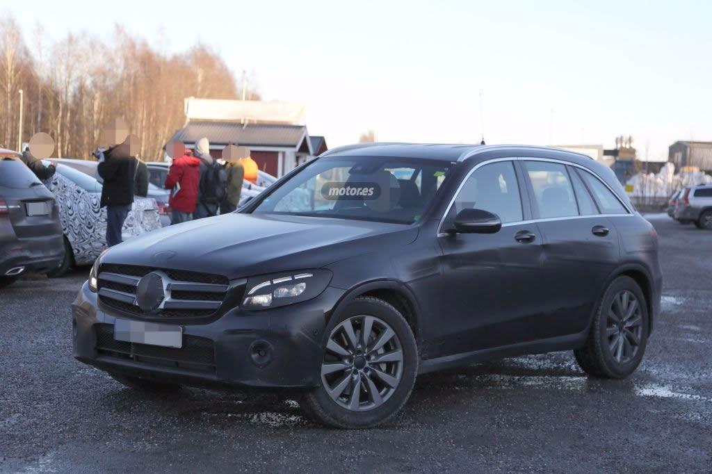 Mercedes-Benz GLC 2016, al descubierto en sus fotos espía ¿definitivas?