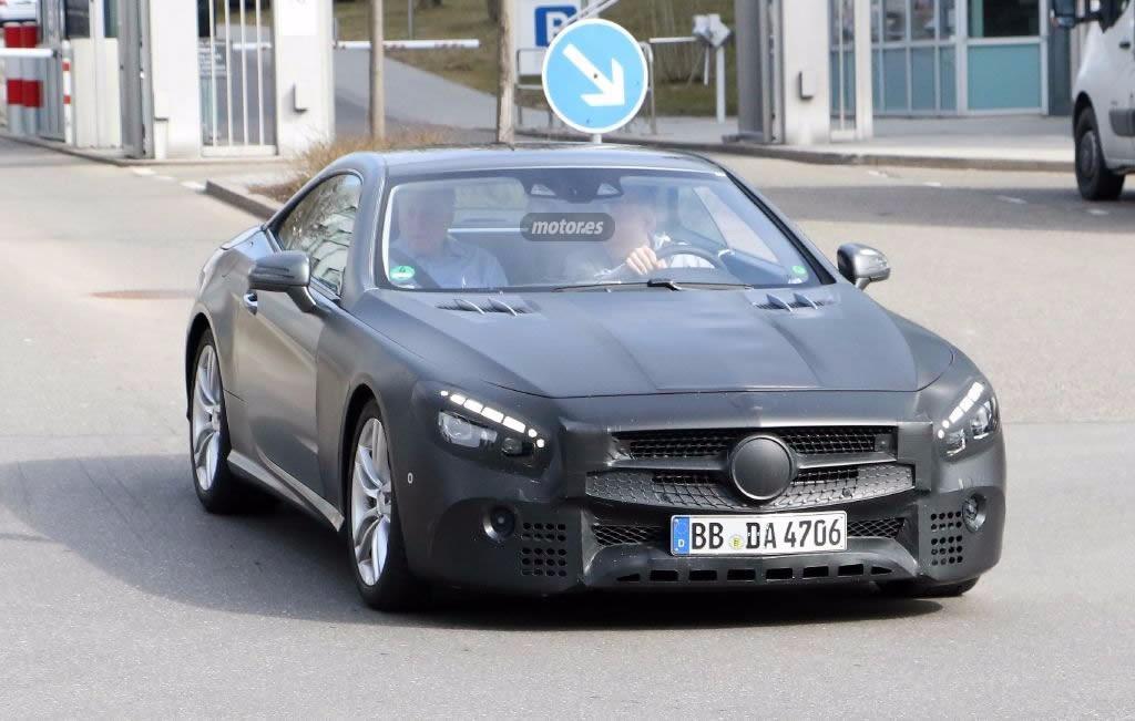Mercedes SL, empezamos a ver su nueva imagen