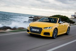 Audi TTS Roadster 2015, ya disponible en España desde 62.580 euros