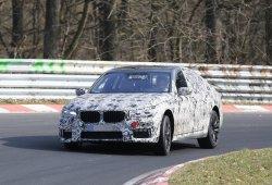 BMW Serie 7 2016, su pack M Sport está de pruebas en Nürburgring