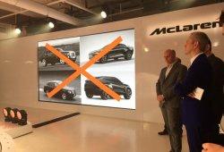 McLaren recuerda que no fabricará un SUV