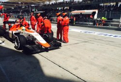 Roberto Merhi termina su primer Gran Premio de Fórmula 1
