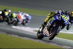 Valentino Rossi remonta y gana el GP de Qatar 2015