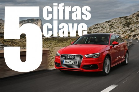 5 cifras clave del Audi A3 Sportback e-tron