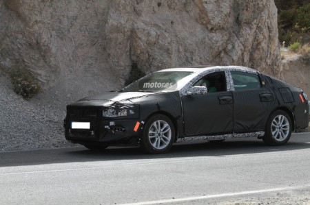 Chevrolet Malibu Hybrid pillado en nuestro país