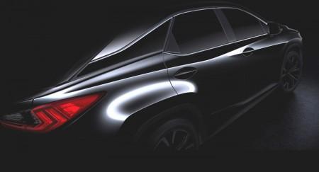 El Lexus RX 2016 será presentado en Nueva York