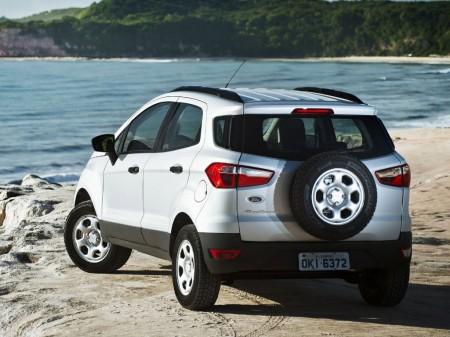 Argentina - Febrero 2015: El Ford Ecosport escala al segundo puesto