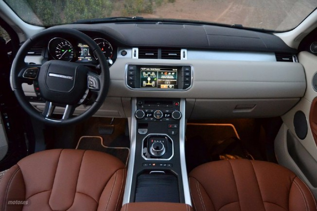 prueba range rover evoque td4 prestige ii exterior e interior. Black Bedroom Furniture Sets. Home Design Ideas