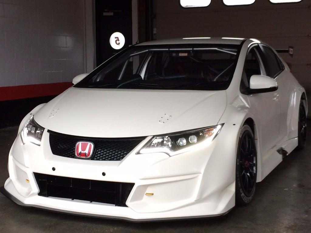 Nuevo Honda Civic Type R, directo a la competición con el BTCC 2015