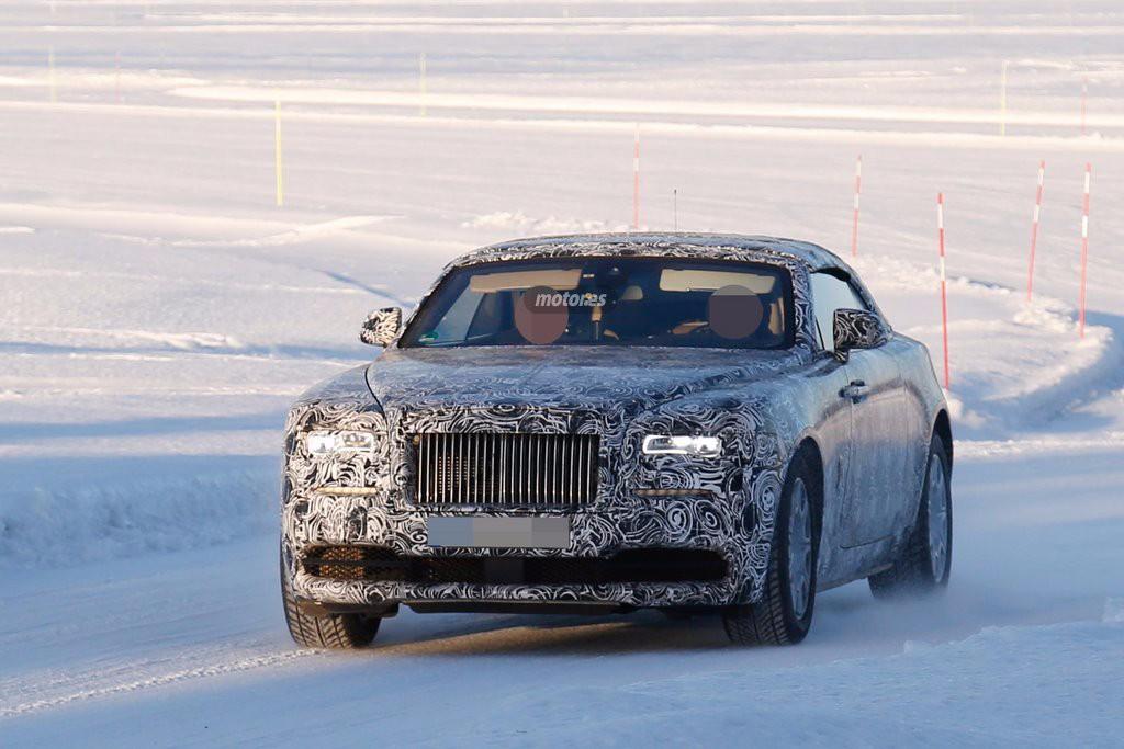 Rolls-Royce Wraith Drophead Coupe, nuevas fotos espía del descapotable de lujo