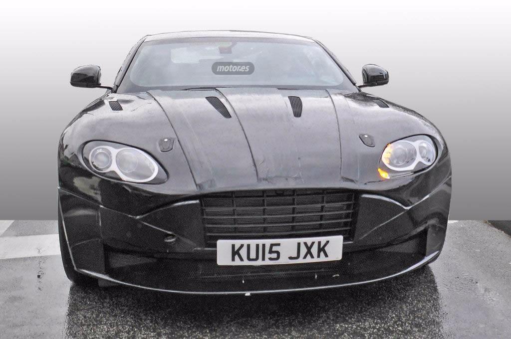 Aston Martin DB11, el sucesor del DB9 se muestra en estas fotos espía