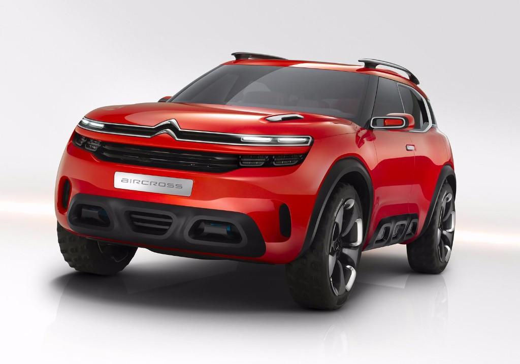 Citroën Aircross Concept: el espíritu del C4 Cactus en un 'crossover' de futuro