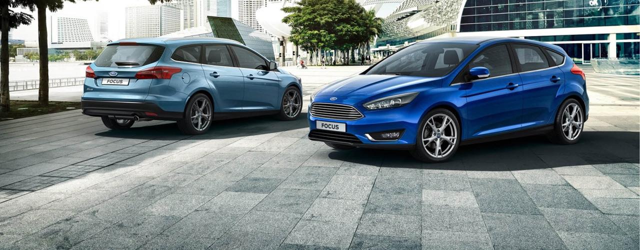 España - Marzo 2015: El Ford Focus entra en el Top 5