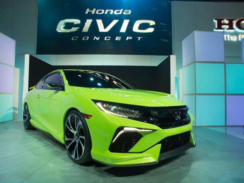 Honda Civic Concept, adelanto del nuevo Civic Coupé para Estados Unidos