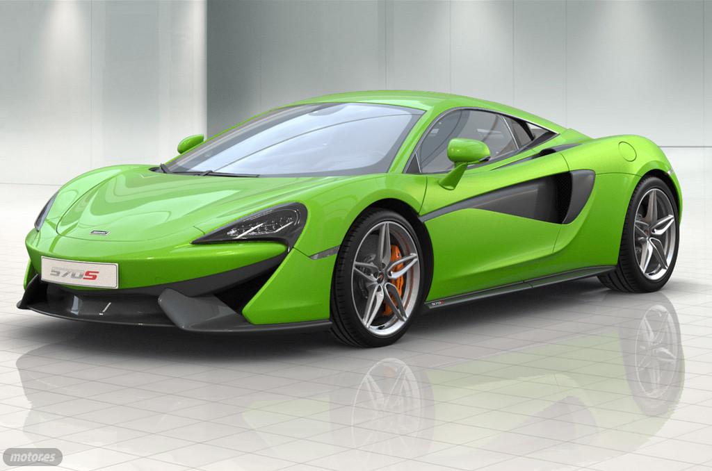 McLaren 570S Coupé: opciones y equipamiento