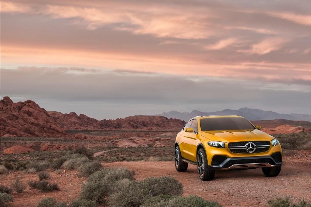 Mercedes GLC Coupé Concept, futuro rival del X4